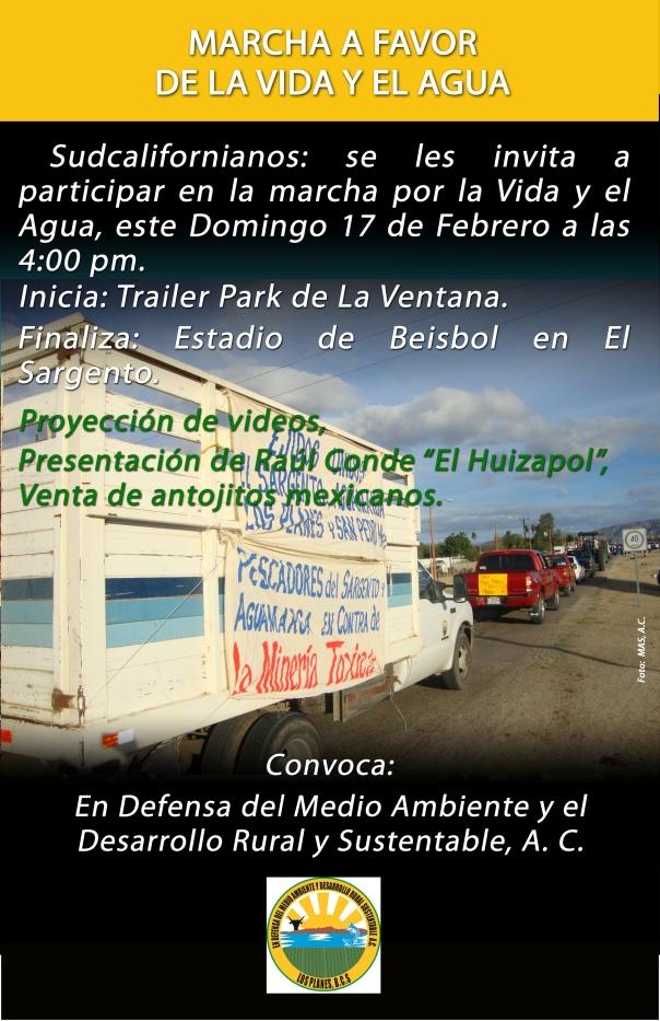 poster MARCHA LOS PLANES