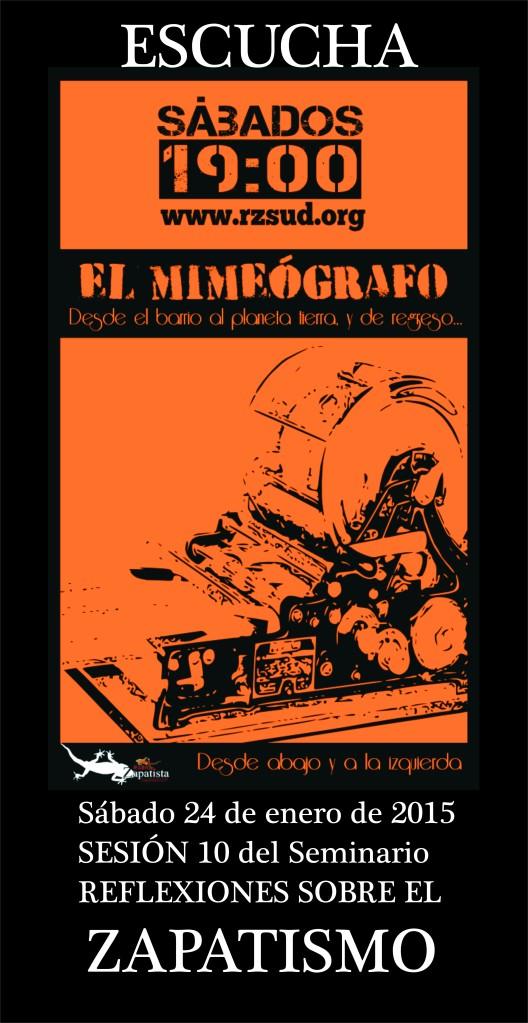 EL MIMEOGRAFO 24 ENERO 2015