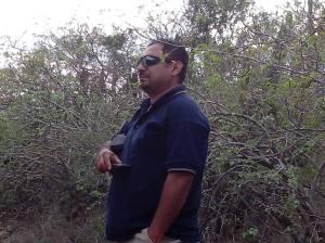 César, guardia de Los Cardones. Foto: Marisela Cordero