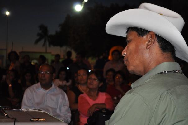 Librado Valenzuela, de la Tribu Yaqui
